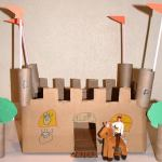 Paper Roll Craft Ideas 14 Diy Castle For Kid paper roll craft ideas |getfuncraft.com
