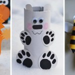 Paper Roll Craft Ideas Animal Craft Toilet Paper Rolls paper roll craft ideas |getfuncraft.com