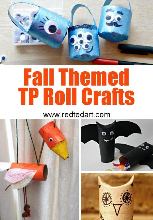 Paper Roll Craft Ideas Fall Tp Crafts paper roll craft ideas |getfuncraft.com