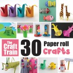 Paper Roll Craft Ideas Paper Roll Crafts Square paper roll craft ideas |getfuncraft.com