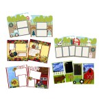 Simple Guidelines To Choose Scrapbook Layouts Ez Scrapbooks On The Farm Scrapbook Layout Pages
