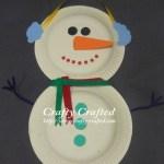 Snowman Paper Plate Craft 11 snowman paper plate craft|getfuncraft.com