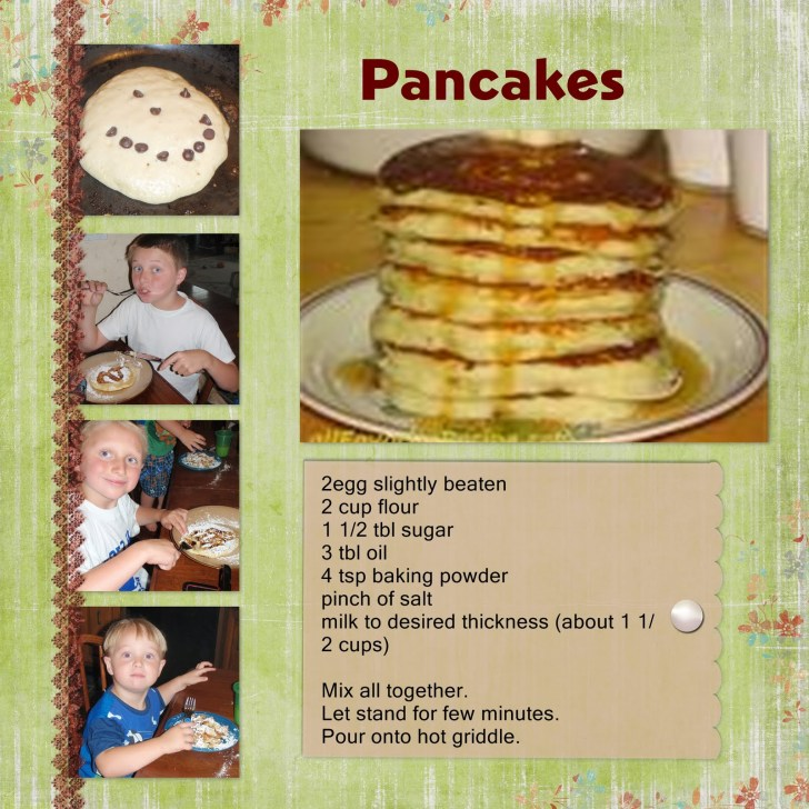 Some Tips to Make a Good Recipe Scrapbook Pages