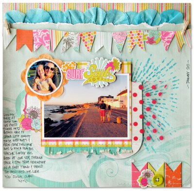 Things to Know about Creating Friendship Scrapbook Ideas Scrapbook Page Kim Watson Getitscrappedblog