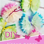 Tissue Paper Butterfly Craft Country Hill Cottage Tissue Paper Butterflies Diy Paper Craft Tutorial 20 tissue paper butterfly craft|getfuncraft.com