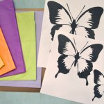 Tissue Paper Butterfly Craft Tissue Paper Butterfly Sun Catchers1 tissue paper butterfly craft|getfuncraft.com