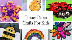 Tissue Paper Crafts Ideas Tissue Paper Crafts For Kids Min