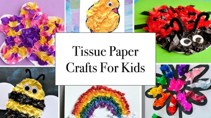 Tissue Paper Crafts Ideas