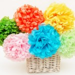 Tissue Paper Crafts Ideas Tissuepaperflowers Main