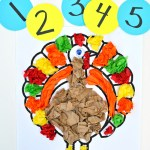 Tissue Paper Turkey Craft Dsc 06422