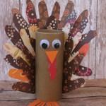 Tissue Paper Turkey Craft Kbuck 101315 6 tissue paper turkey craft |getfuncraft.com