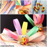 Tissue Paper Turkey Craft Toilet Paper Roll Turkey Craft For Kids To Make
