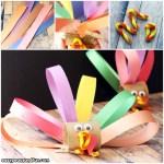 Tissue Paper Turkey Craft Toilet Paper Roll Turkey Craft For Kids To Make tissue paper turkey craft |getfuncraft.com