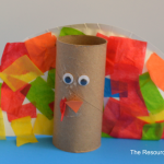 Tissue Paper Turkey Craft Toilet Paper Roll Turkey Preschooler