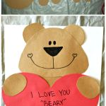 Valentine Paper Crafts Kids 22i Love You Beary Much22 Valentine Craft For Kids Crafty Morning valentine paper crafts kids|getfuncraft.com