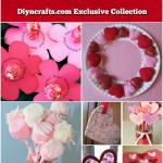 Valentine Paper Crafts Kids Kids Valentines Day Crafts Diyncrafts