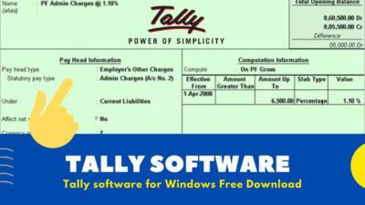 Tally 7.2