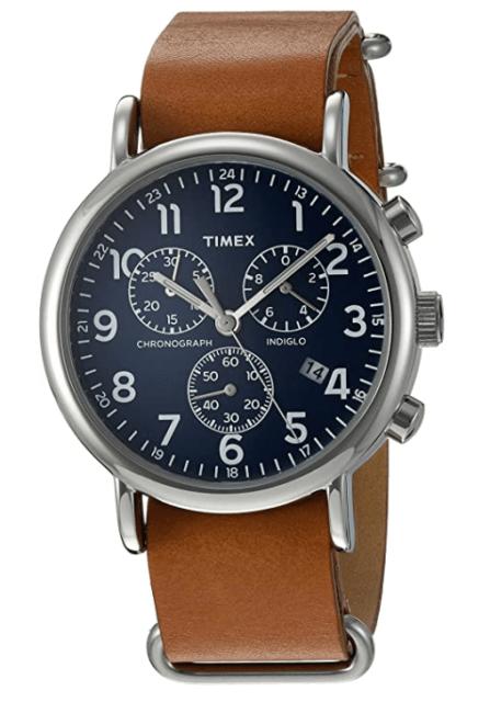 Timex Weekender Chrono watch