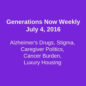 Icon for Generations Now Weekly July 4 2016 focus on Alzheimer's