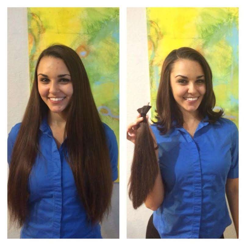 hair donation color treated