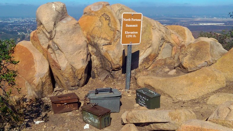 San Diego Hiking: North Fortuna Peak Summit