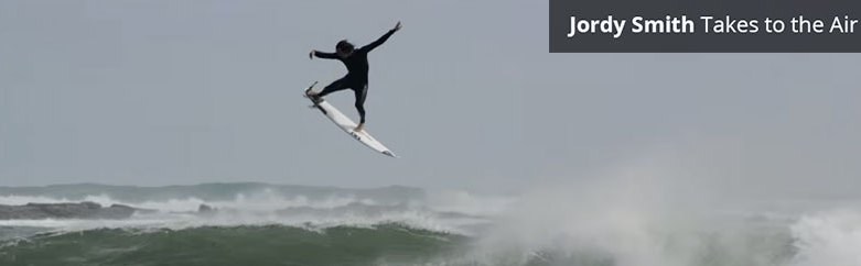 Jordy Smith's Epic Aerial 360