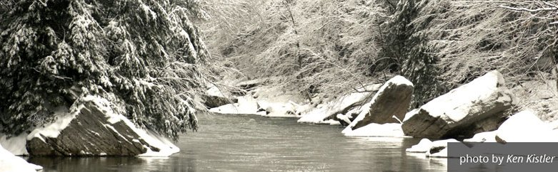 Snowy Creek by Ken Kistler