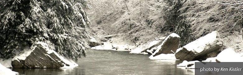 Snowy Creek by Ken Kistler