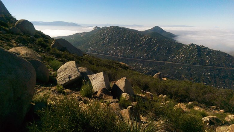Mt. Woodson Summit Trail Views