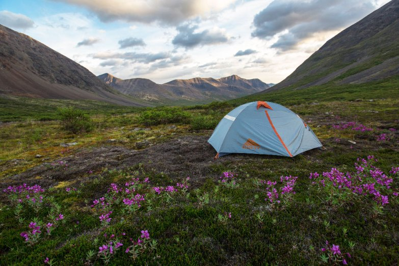 Set Up Camp Away from Others - photo by AlaskaNPS
