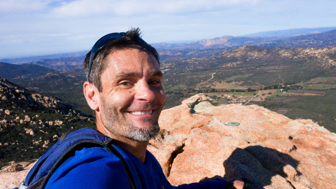 Hike Lawson Peak and take a selfie