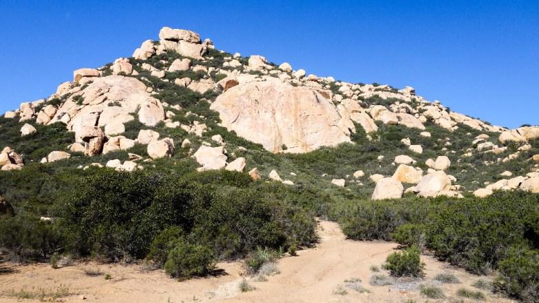 Hike Lawson Peak - summit trail