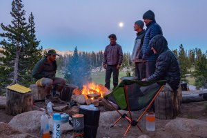 Hiking the John Muir Trail - Sunset Lakes Campground