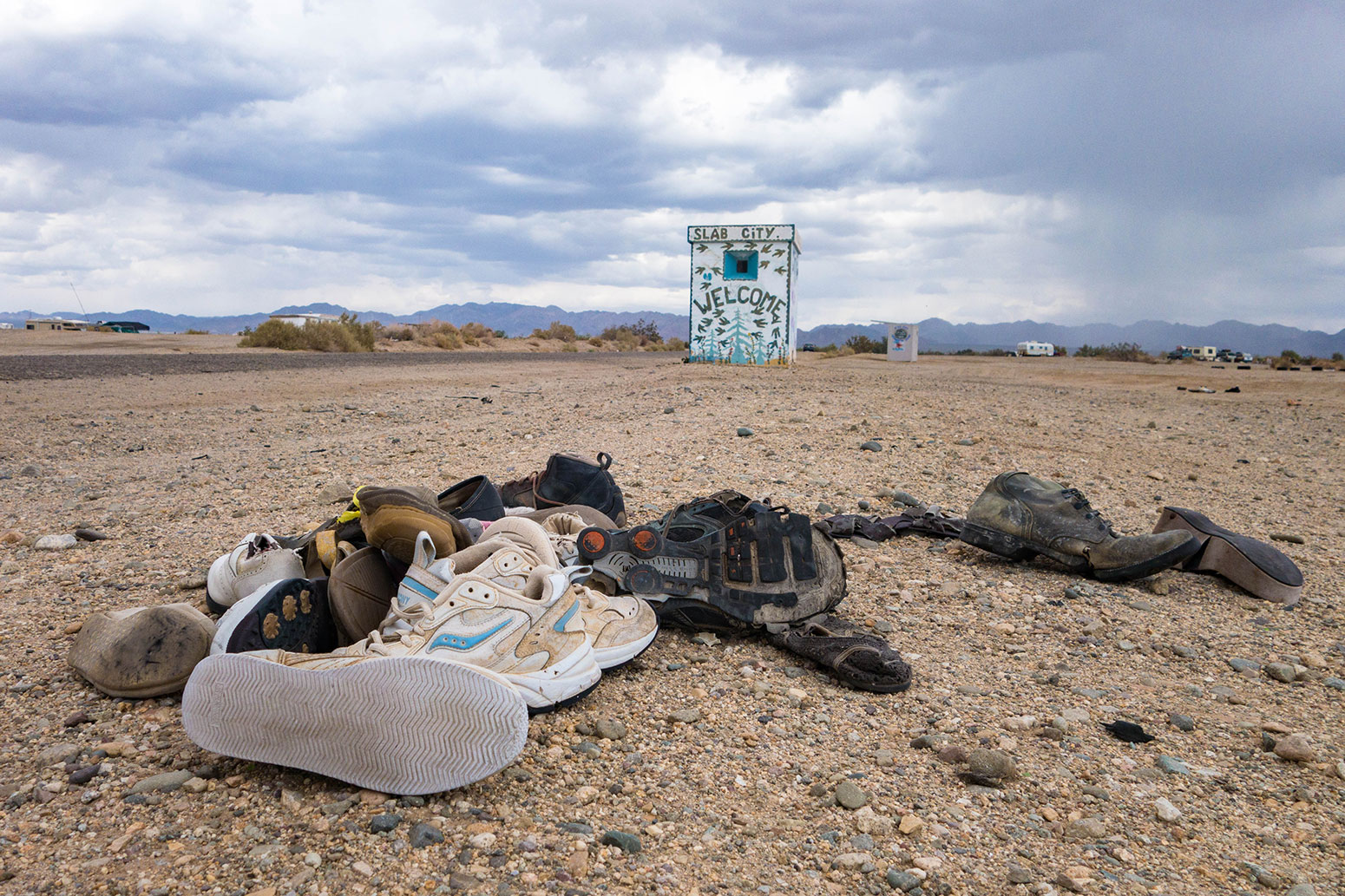 Salton Sea - Slab City