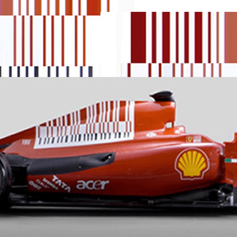 Ferrari Drops F1 Bar Code