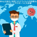 イベント講演中止が相次ぐ新型コロナウイルスの影響はいつまで続く・コンサートやスポーツにも影響