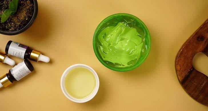 Aloe Vera Gel with Cosmetic Oils - Gethealtysoon.info
