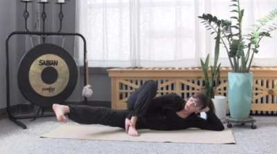Do this move to exercise and tone your inner thighs.