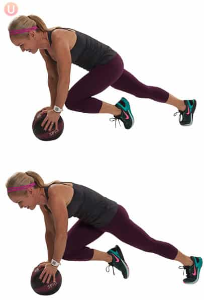 Medicine-Ball-Mountain-Climbers-Exercise-Core-Workout