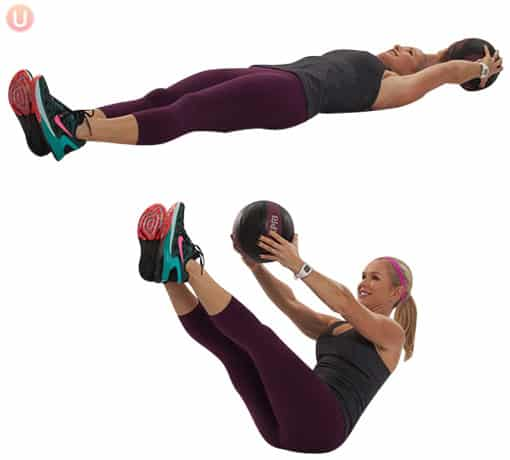 Medicine-Ball-V-Up-Exercise-Core-Workout