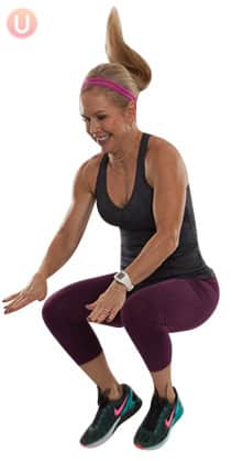 Learn how to do plyometric exercises like knee tucks.