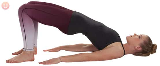 Learn how bridge pose can help strengthen your pelvic floor.