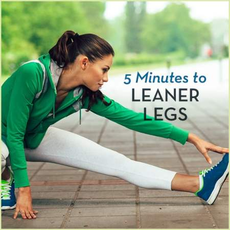Give your legs a quick workout with this routine.