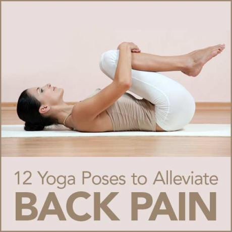 Try these yoga poses to strengthen your back.