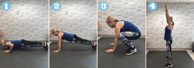 Try this move as part of our fun AMRAP workout.
