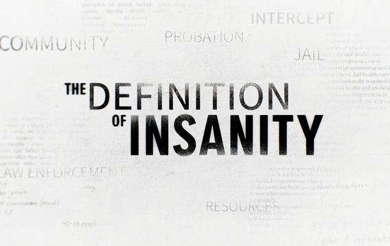 the definition of insanity slide