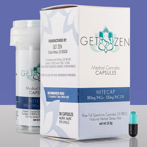 Capsules - Get Zen Nightcap