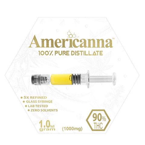 Distillate - Americanna Cotton Candy One Gram