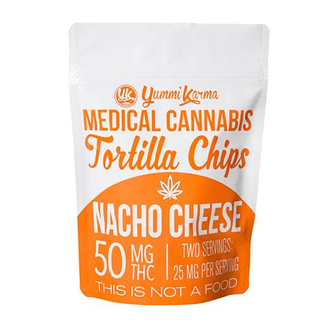 Chips - Nacho Cheese Tortilla 50mg Yummi Karma