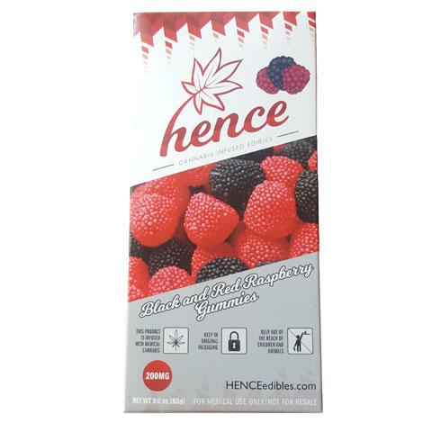 Gummy Raspberries 200MG THC - Hence